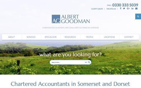 Home - Albert Goodman - Chartered Accountants