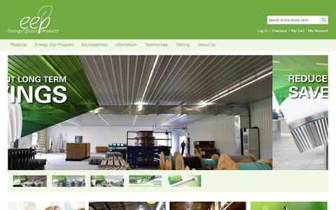 Screenshot of Home Page eepsales.com - Home page - captured Jan. 23, 2015