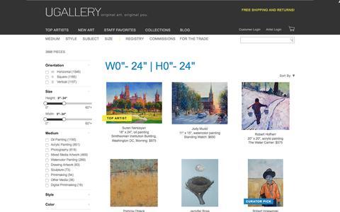 Small Artwork for Sale, Buy Art Online | UGallery
