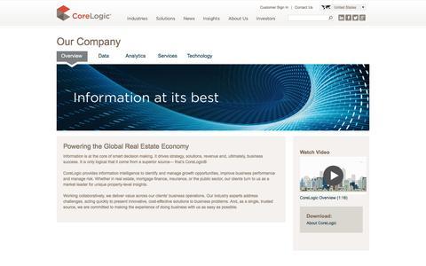 CoreLogic | Our Company