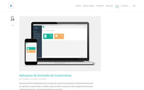 Screenshot of Blog conatussw.com - Blog - Conatus Software - captured Sept. 29, 2018