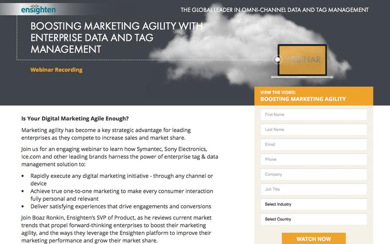 Boost Marketing Agility Webinar