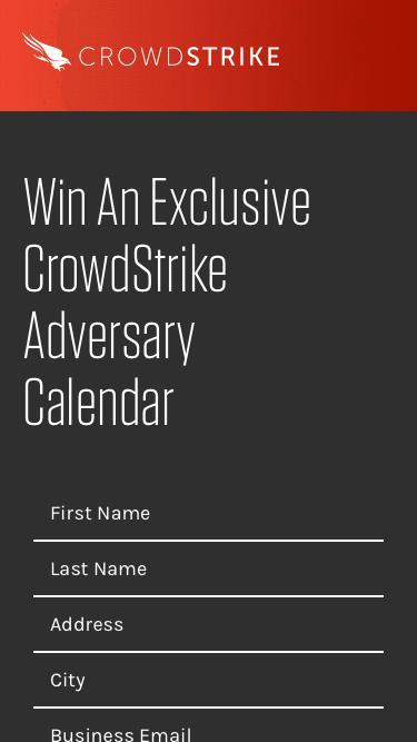 Receive CrowdStrike's 2018 Adversary Calendar