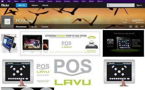Screenshot of Flickr Page flickr.com - Flickr: POSLavu's Photostream - captured Oct. 22, 2014
