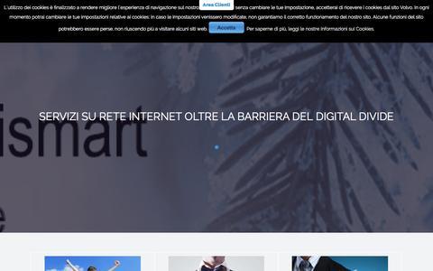 Screenshot of Home Page bismart.it - bismart - Bismart Internet e Sicurezza - captured Jan. 2, 2016