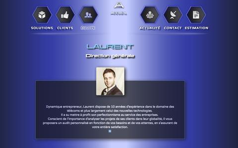 Screenshot of Team Page avimea.com - Avimea   Contact - captured Sept. 30, 2014