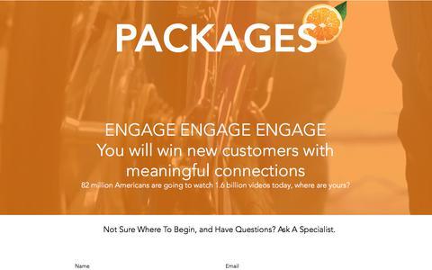 Screenshot of Services Page juiceheadmedia.com - Juice Head Social Media Video Marketing Services Dallas - captured June 8, 2017