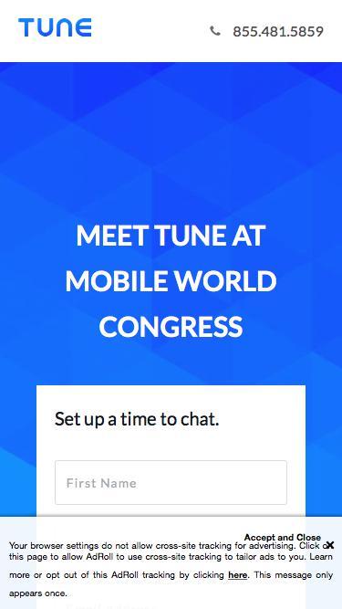 Mobile World Congress 2018 | TUNE