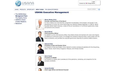 USANA Leadership | USANA