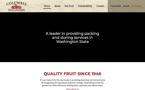 Quality Fruit Since 1946 | Columbia Fruit Packers