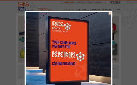 Screenshot of Home Page reach-gs.eu - REACH Global Services S.A. - Ana Sayfa | Tek Temsilci / Only Representative - Sorumlu Kişi /Responsible Person - SEA / Turkish CLP - KKDiK / Turkish REACH - Kozmetik / Cosmetics - captured Oct. 18, 2018