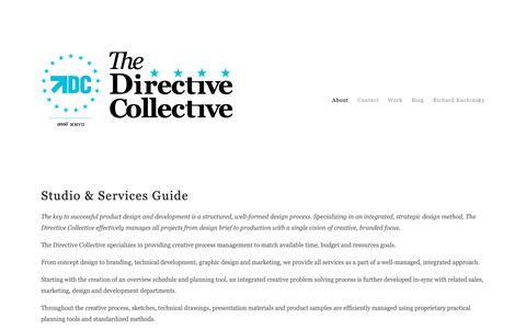 Screenshot of About Page directivecollective.com - About — The Directive Collective - captured Oct. 20, 2018