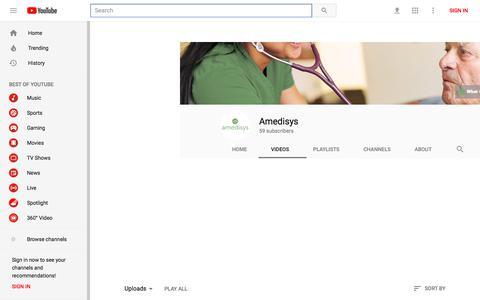 Amedisys - YouTube - YouTube
