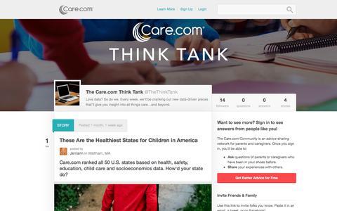 The Care.com Think Tank - Care.com Community