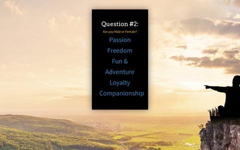 Screenshot of Landing Page personallifemedia.com - Single Man Question 1 | Personal Life Media - captured Aug. 18, 2016