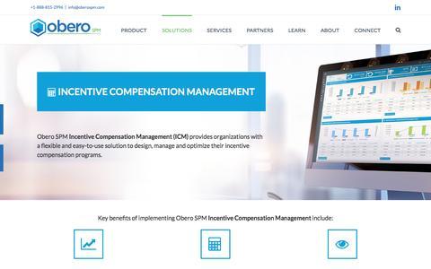 Incentive Compensation Management by Obero SPM