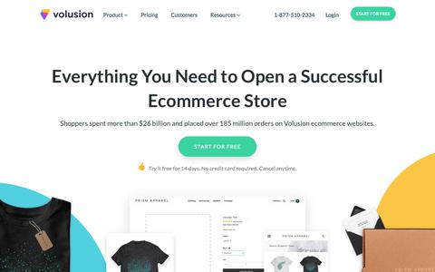 Ecommerce Website Store & Shopping Cart Software | Volusion