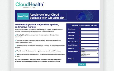 Demo the Industry's Most Comprehensive Cloud Management Solution