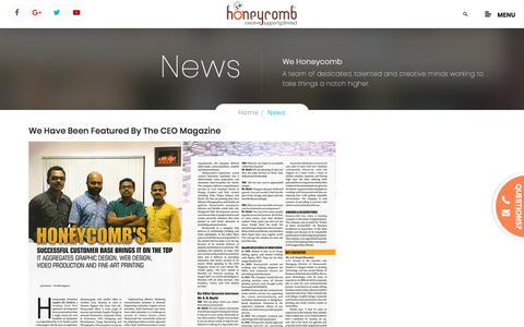 Honeycomb Creative support-News & Updates