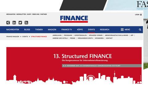 Structured FINANCE-FINANCE Magazin