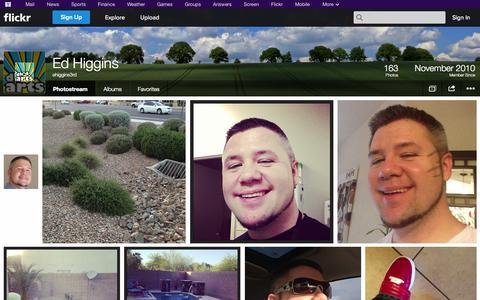 Screenshot of Flickr Page flickr.com - Flickr: ehiggins3rd's Photostream - captured Oct. 23, 2014
