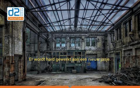 Screenshot of Home Page d2creators.nl - d2creators – d2creators - captured Nov. 6, 2018