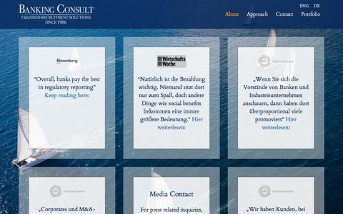 Screenshot of Press Page bankingconsult.com - Bankingconsult - Press - captured Aug. 1, 2018