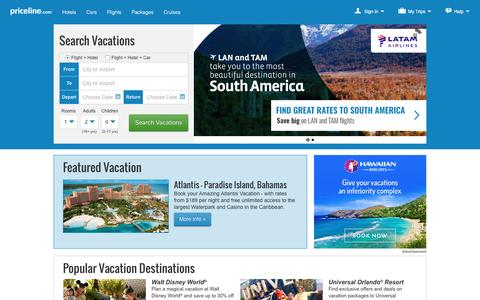 Priceline: Deals on Airline Tickets, Vacation, Hotels, & Flights