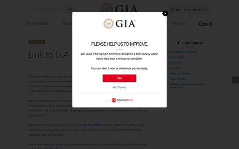 Link to GIA