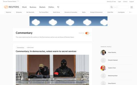Commentary | Reuters.com