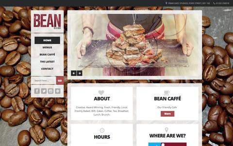 Screenshot of Home Page bean-inabox.co.uk - Home - BEAN in a BOX BEAN in a BOX - captured Jan. 27, 2015
