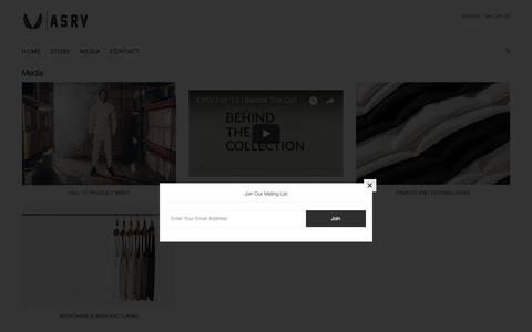 Screenshot of Press Page aestheticrevolution.com - Media – Aesthetic Revolution - captured Oct. 13, 2017