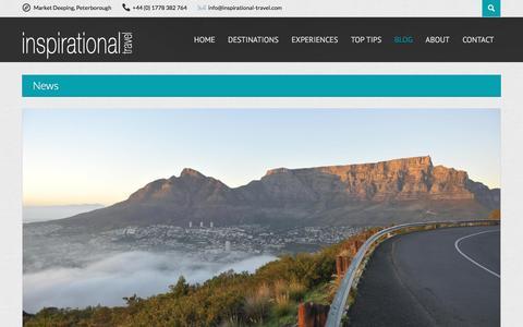 Screenshot of Blog inspirational-travel.com - Inspirational Travel Blog - Luxury tailor made holidays Inspirational Travel - captured March 11, 2016