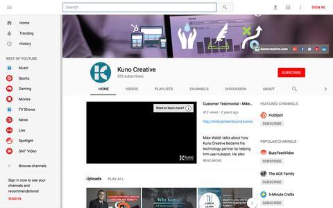 Kuno Creative - YouTube - YouTube