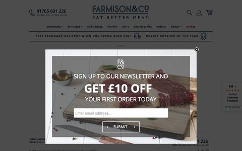 Screenshot of Login Page farmison.com - Farmison & Co ™ - captured Sept. 23, 2018