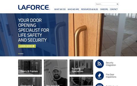 LaForce Inc. Door Security Devices