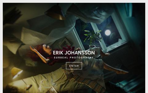 Screenshot of Home Page erikjo.com - ERIK JOHANSSON - captured June 29, 2019