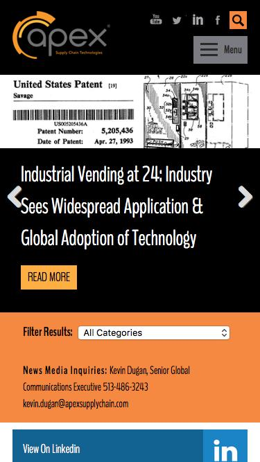 Blog: Trending at Apex Archives - Page 2 of 2 - Apex Supply Chain Technologies