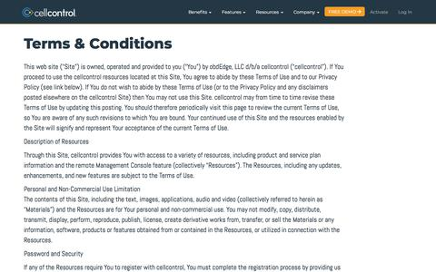 Site Terms & Conditions