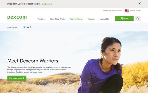 Dexcom Warriors | Meet Dexcom heroes and read their stories! | Dexcom