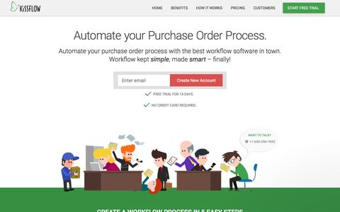 Purchase Order Process Workflow Tool | Purchasing Software