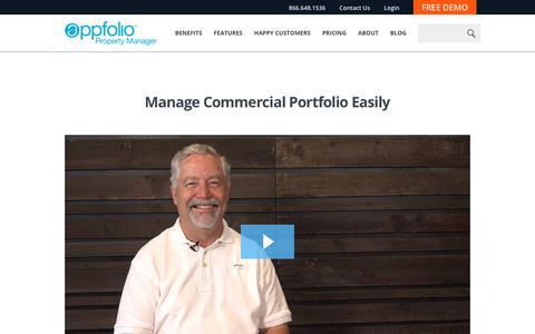 Screenshot of Case Studies Page appfolio.com - AppFolio Video Case Study for Glenn Martin Company - captured July 21, 2017
