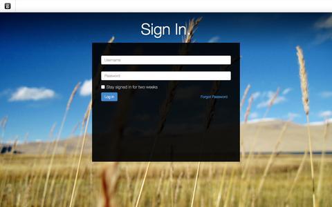 Screenshot of Login Page drgok.com - Delaware Resource Group :: Login - captured Feb. 17, 2016