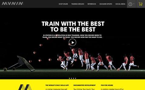 Screenshot of Press Page muninsports.com - Forside - Munin Sports - captured Oct. 7, 2014