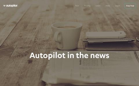 Autopilot Recent Coverage | Customer Journey Software Company