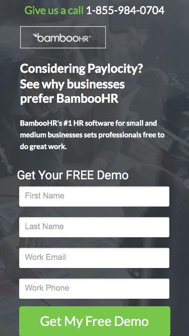 BambooHR | #1 HRIS for Small and Medium Businesses