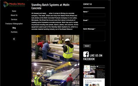 Screenshot of Blog mediaworkspro.com - Blog - Media Works Production Media Works Production - captured Feb. 12, 2016
