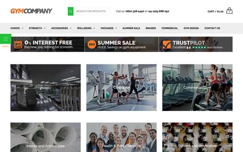 Screenshot of Case Studies Page gymcompany.co.uk - Case Studies - Gym Equipment | GymCompany - captured July 20, 2016