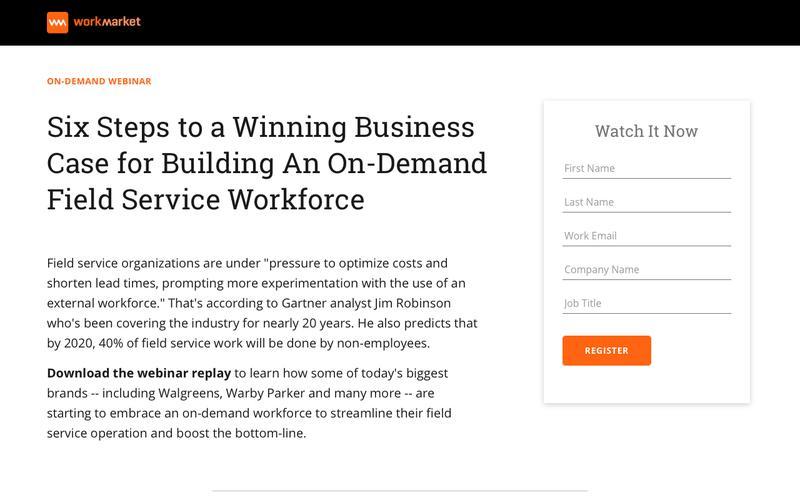 Webinar: 6 Steps To A Winning On-Field Service Business Case