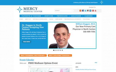 Mercy Medical Center, Canton OH | Quality, Affordable Hospital Care